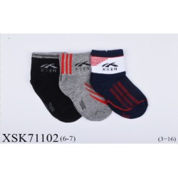 Bamboo kids sock (6Y-7Y)