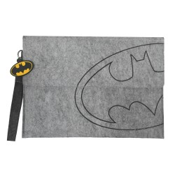 ECO-Super Hero Unisex Felt Document Clutch Bag_Batman