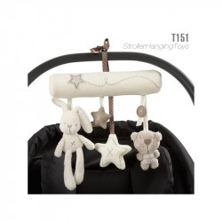 Hanging Stroller Toys Rabbit & Bear