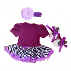 Tutu dress 3in1 (purple)