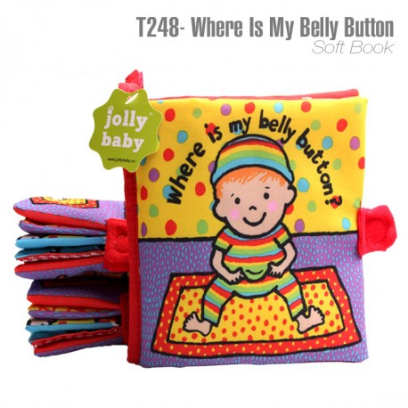 Where Is My Belly Button Soft Book