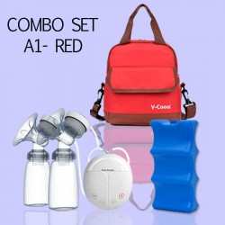 Combo set A1 - red