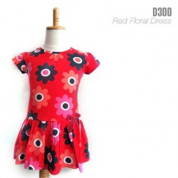 Dress Red Flower.