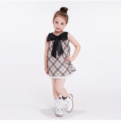 Korean Style Fashion Girl Children Summer Dress
