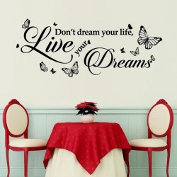 Walplus Dream Quote Wall Sticker (S series)