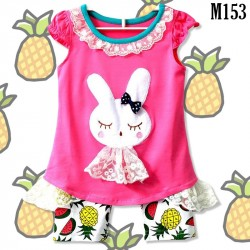 Baby Suit Rabbit with Pineapple