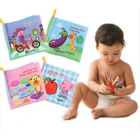 4in1 SOFT BOOK LEARNING