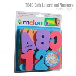 Bath Letters and Numbers