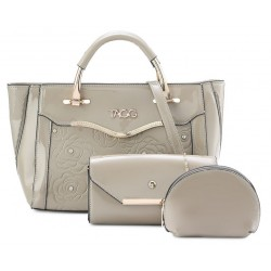 Handbag shinny 3in1