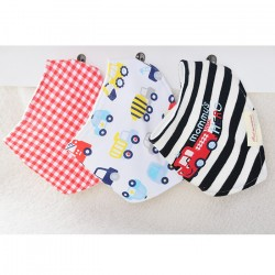 Bandana Baby Bibs 3in1 - Mommy's Little Hero