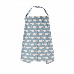 nursing Cover Breastfeeding - whale