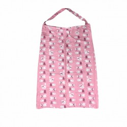 nursing Cover Breastfeeding - pink bear