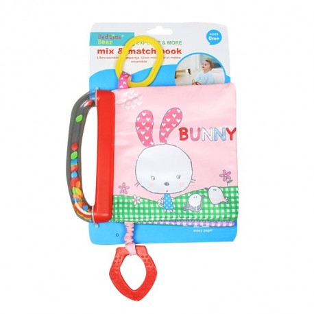 Teether softbook-Bunny