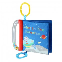 Teether softbook-Planet