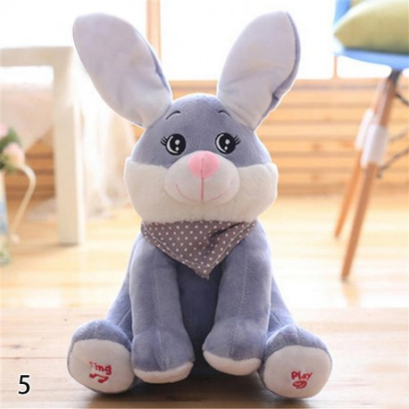 Peekaboo Rabbit Baby Plush Toy Singing