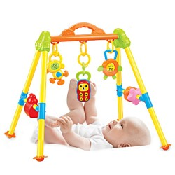 Mini play gym rack