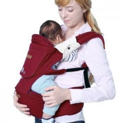 Imama Baby Hipseat & Carrier-Red