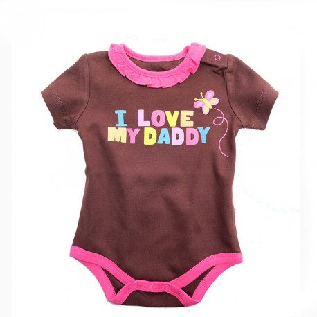 I love my daddy romper