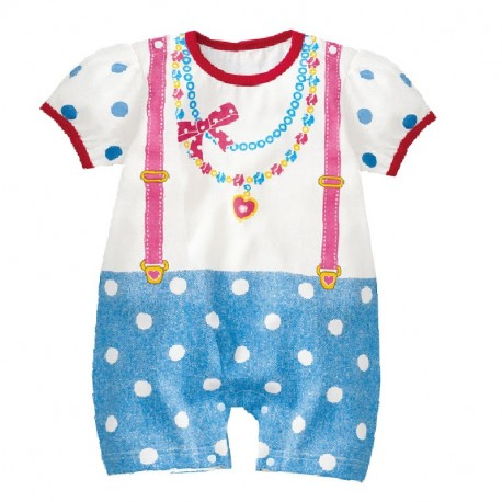 Necklace Jumper with polka dot