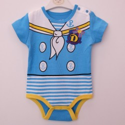 High Quality (Blue sailor Romper)