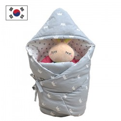Baby Sleeping Nest-Grey Crown
