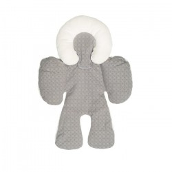 Baby Head and Body Support Pillow-Grey