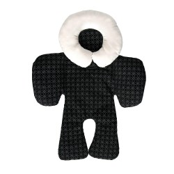 Baby Head and Body Support Pillow-Black
