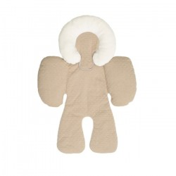 Baby Head and Body Support Pillow-Khaki