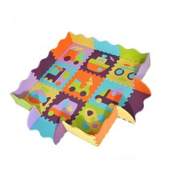 BABYGREAT TRANSPORTATION PUZZLE MAT