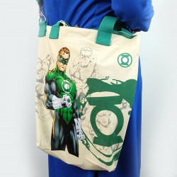 ECO Super Hero 2in1 Canvas Sling Tote Bag (Green Lantern)