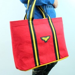 ECO Super Hero Felt Tote Bag (Wonder Women)