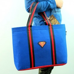 ECO Super Hero Felt Tote Bag (Superman)