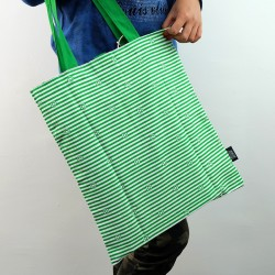 ECO-Super Hero Canvas Foldable Tote Bag (Green Lantern)