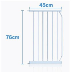 BABY SAFETY GATE (EXTENSION) 45CM