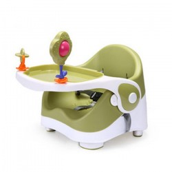 b.p Portable Multifuction Baby Booster Dinning Chair (Green)