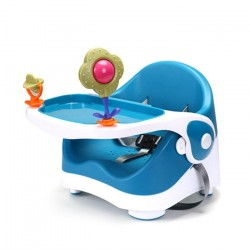 b.p Portable Multifuction Baby Booster Dinning Chair (Blue)