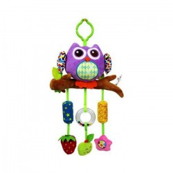 Stroller Hanging Toys (Owl Purple)