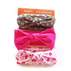 3in1 Headband Set (LOVE U PINK)