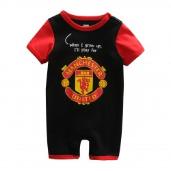 Manchester Black Jumper Short Sleeves