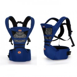 AIEBAO BABY CARRIER - DARK BLUE