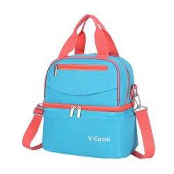 V-COOL COOLER BAG-LIGHT BLUE