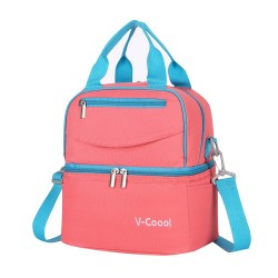V-COOL COOLER BAG-PINK