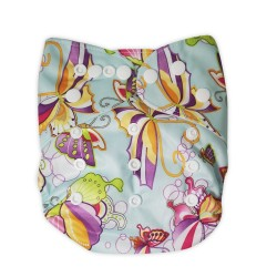 Cloth Diaper - butterfly
