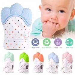 BPA FREE Baby Teething Glove Teether