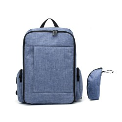 STYLISH DIAPER BAG (BLUE)
