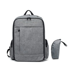 STYLISH DIAPER BAG (GREY)