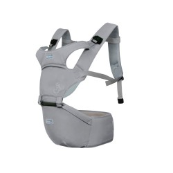 Aiebao Baby carrier with Hipseat-Grey