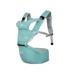 Aiebao Baby carrier with Hipseat-Turquoise