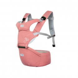 Aiebao Baby carrier with Hipseat-Peach