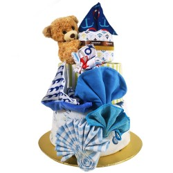HOLABEBE HAMPER CAKE-SAILOR BEAR